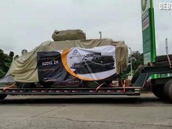 Kozak MRAP dari Ukraina sudah merapat di Tanah Air?