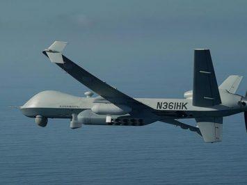 Drone MQ-9A Block 5 Reaper berhasil deteksi kapal selam