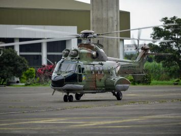 PTDI Super Puma Skadron Udara 6