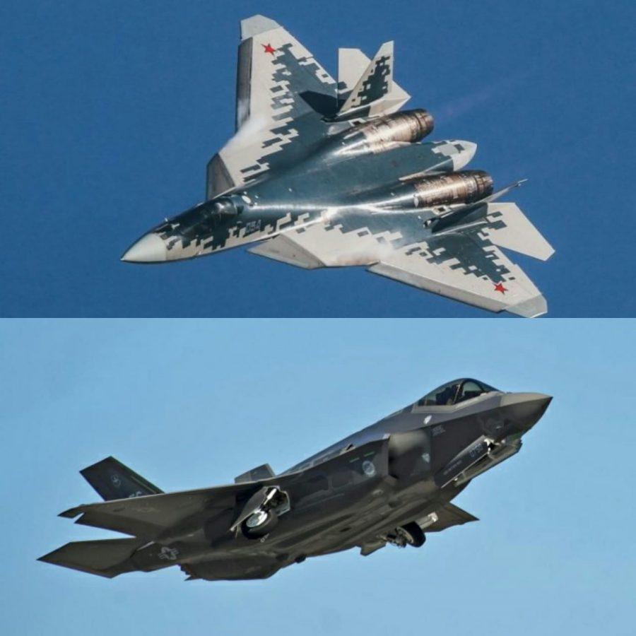 Su-57 and F-35