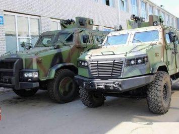 MRAP dari Practica Ukraina akan dikembangkan dengan Pindad