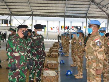 Asops Panglima TNI Tinjau Kesiapan Konga XXVIII-M/UNIFIL