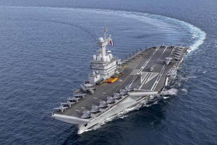 Charled de Gaulle aircraft carrier