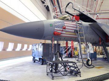 F-15C nose art