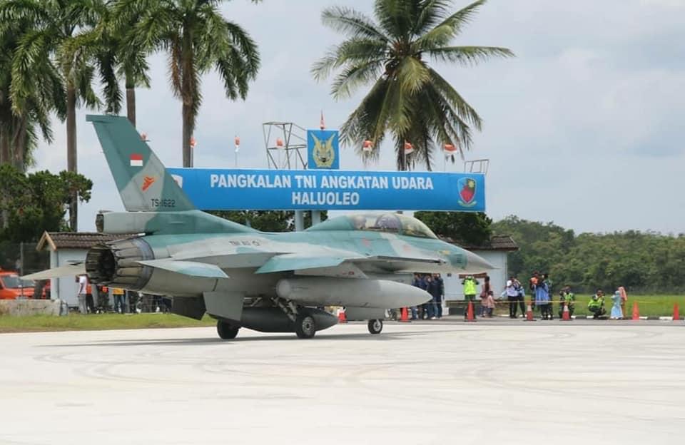 F-16 di Haluoleo