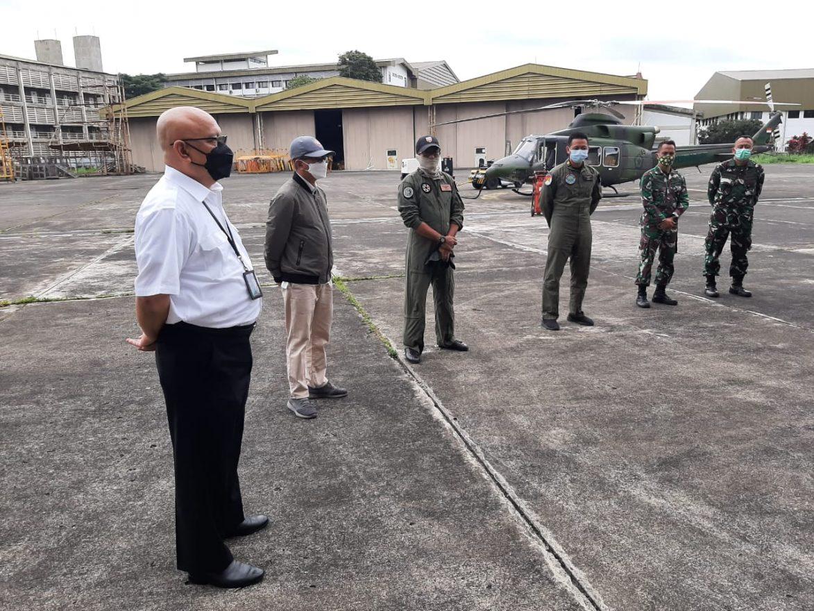 Ferry Flight Bell 412EPI untuk TNI AD_AR