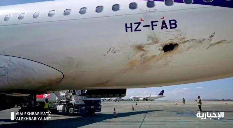 A320 flyadeal diserang drone, lubang menganga di badan pesawat