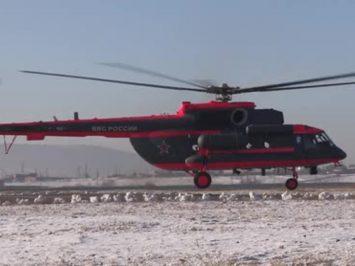 Helikopter Mi-8AMTSh-VA