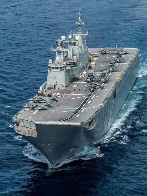 Juan Carlos I aircraft carrier