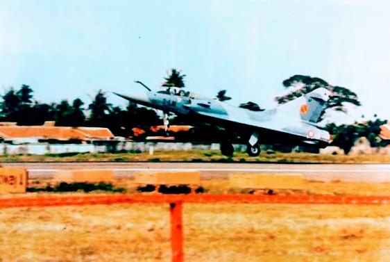 Migae 2000 mendarat di Kemayoran Jakarta