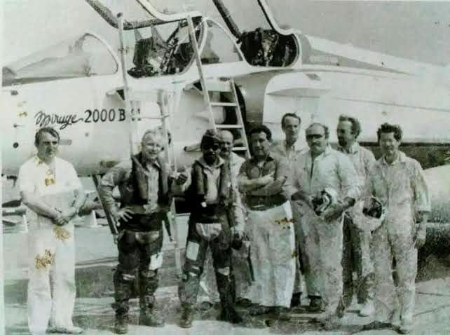 Mirage 2000 dicoba penerbang TNI AU