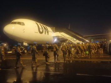 Pemberangkatan Satgas BGC TNI ke Afrika Tengah