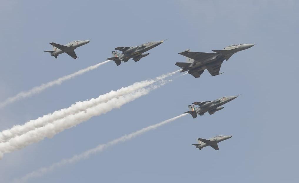 Pesawat-pesawat AU India_aero india 2021