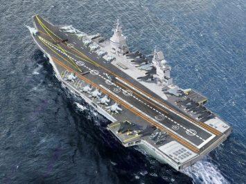 Shtorm aircraft carrier