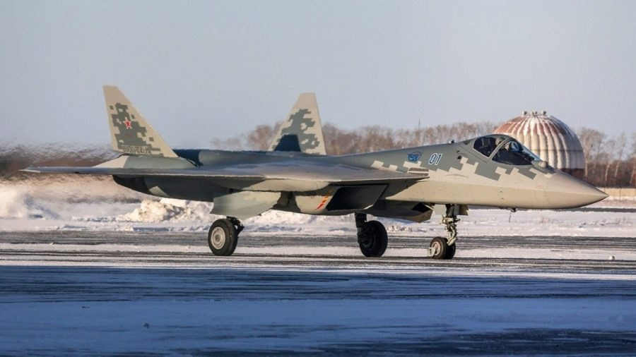 Su-57 Felon First Serial Delivery