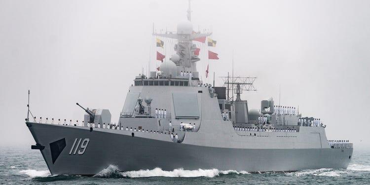 Type 052D Guiyang Destroyer