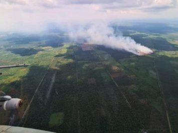 F-16 pantau kebakaran hutan di Riau