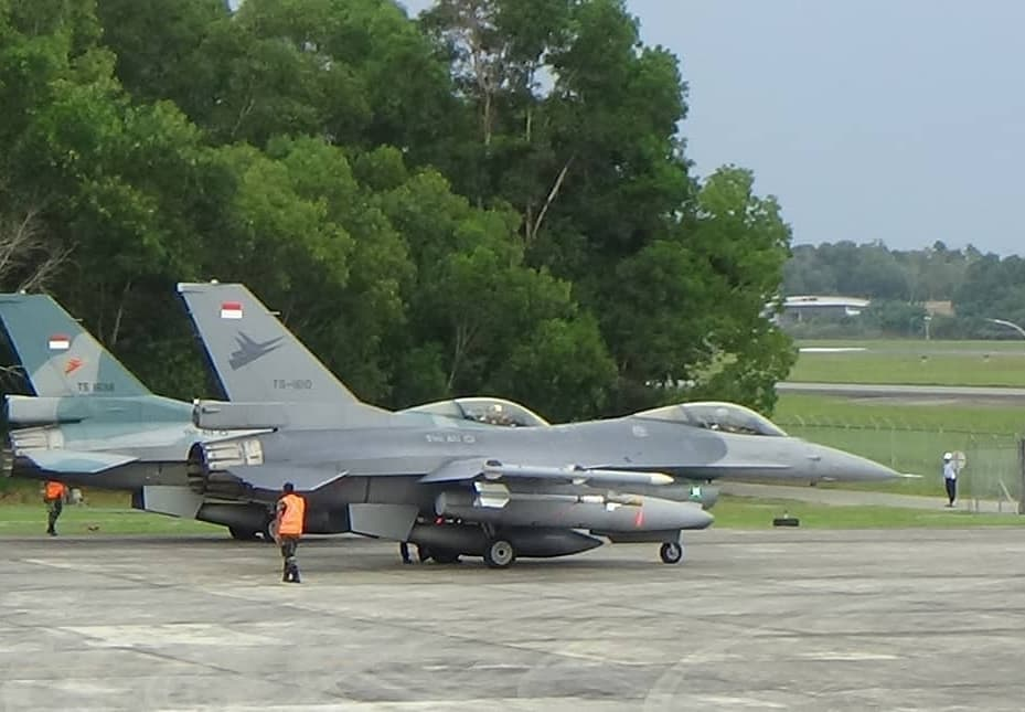 F-16 Skadron Udara 3 di Lanud Dhomber