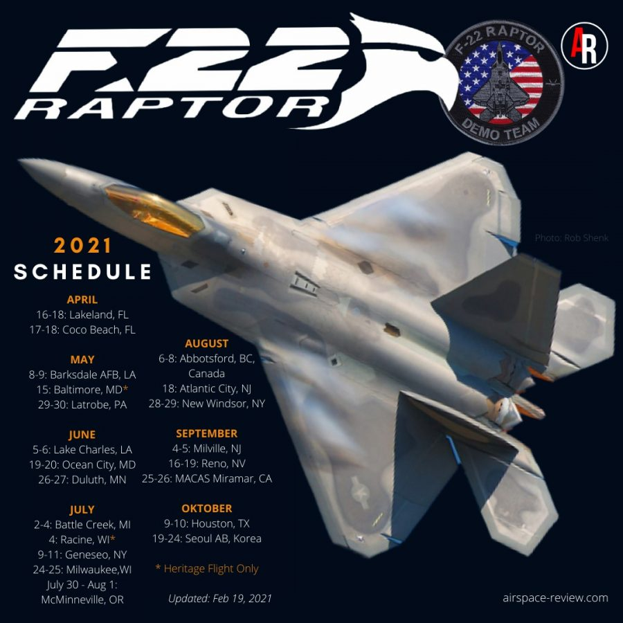 F-22 Raptor Demo Team_Airspace Review