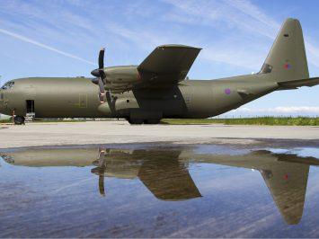 RAF C-130J-30 Lofting