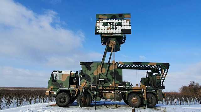 TRS-15M Odra radar