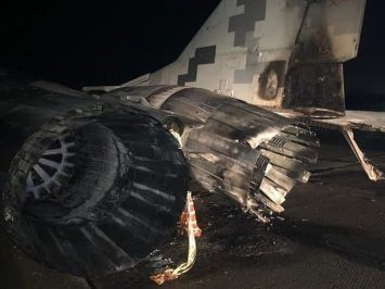 Ukraine MiG-29 collided with car