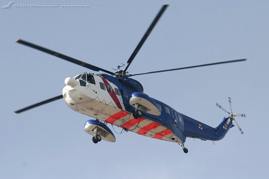 Lebanese S-61 helicopter