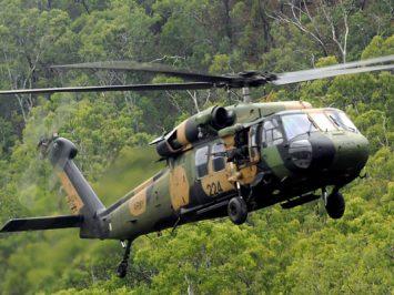 Aurtralian Army Black Hawk
