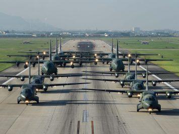 Cn235 dan C-130 Rokaf