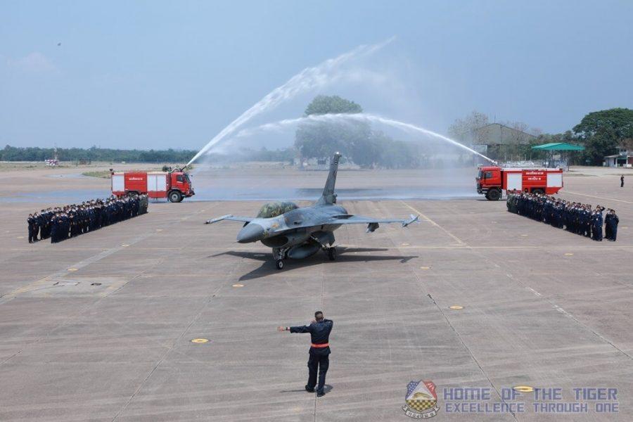 F-16B RTAF