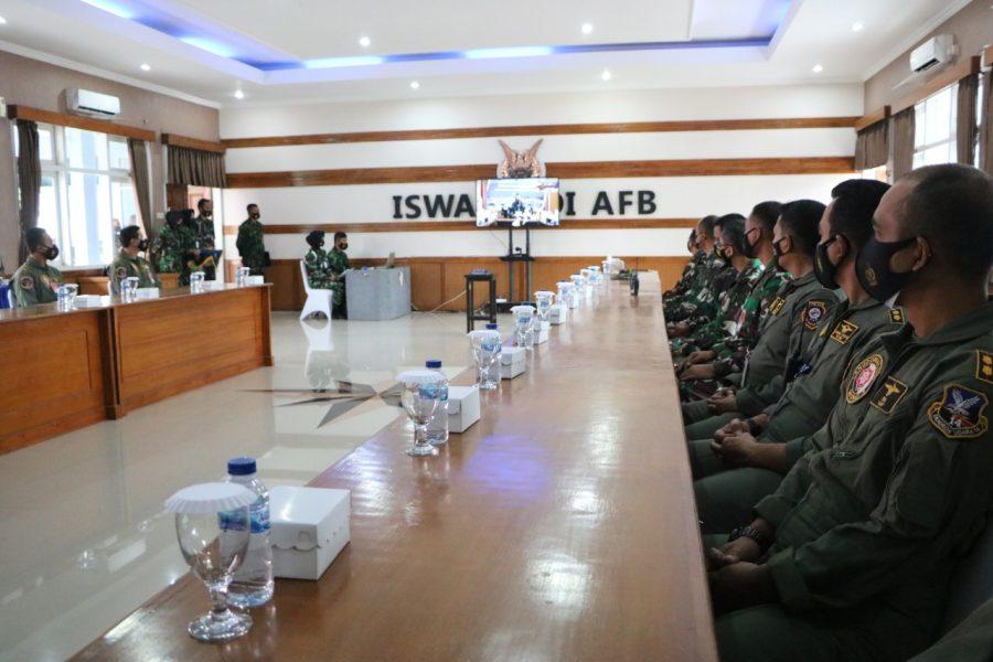 FWIC TNI AU di Lanud Iswahjudi