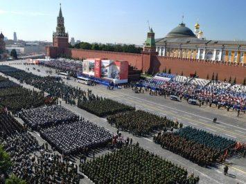 Parade Kemenangan di Moskow