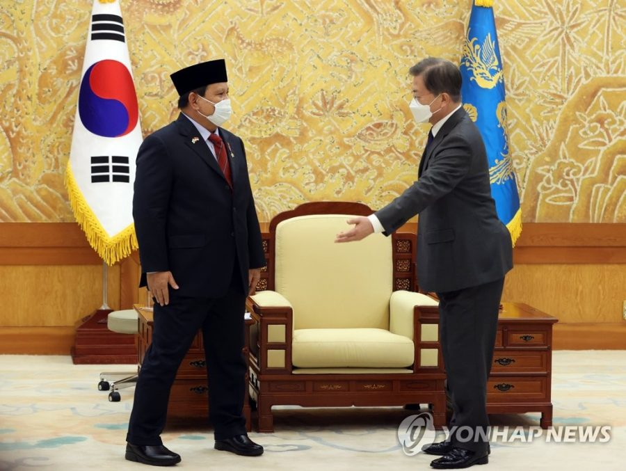 Prabowo dan Presiden Korea