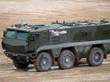 Typhoon-K MRAP dilengkapi stasiun senapan mesin RCWS