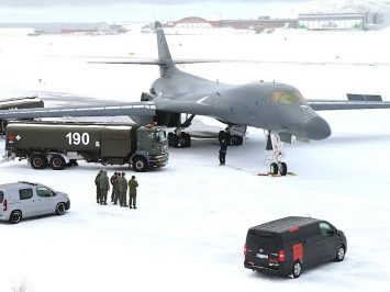 USAF B-1B in Norway