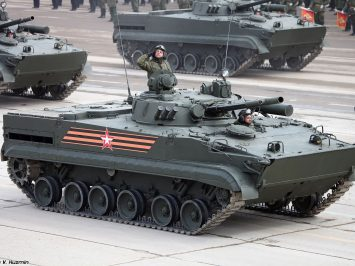 Resimen Senapan Motor Armada Baltik terima 30 BMP-3 modern