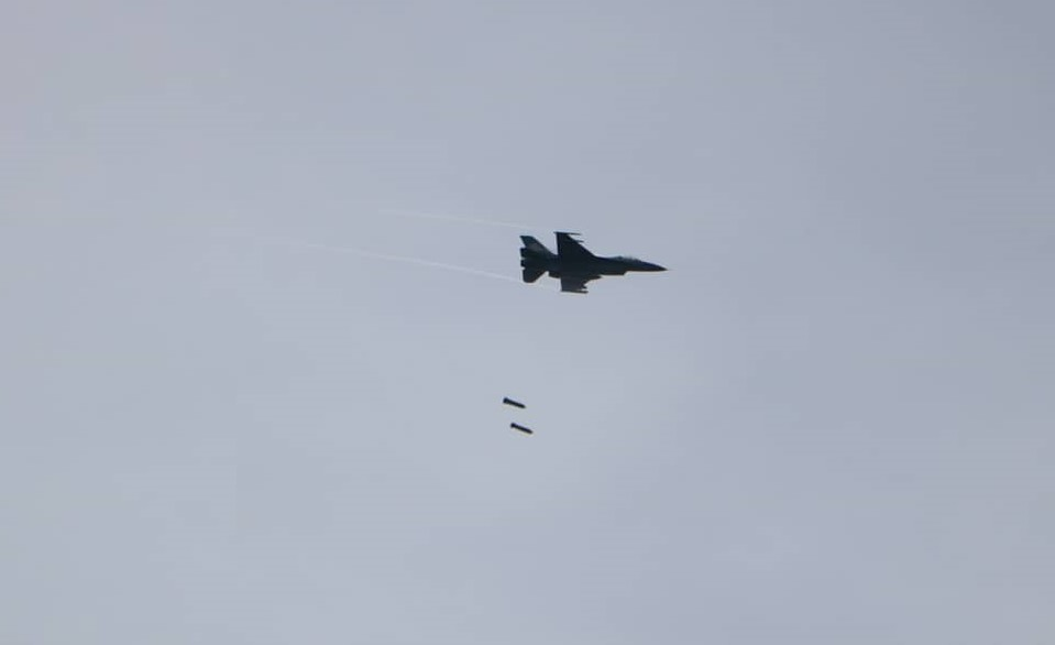f-16 Bombing