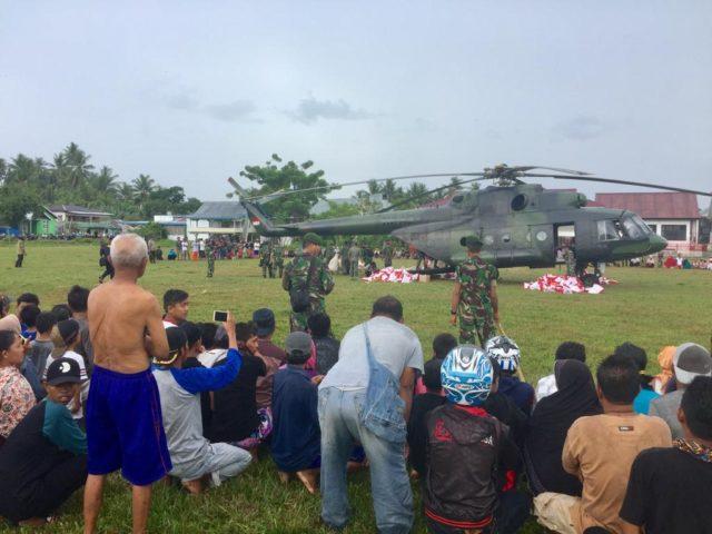 Heli Mi-17V-5 TNI AD