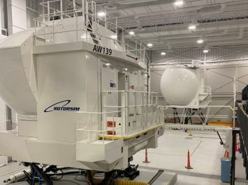 Leonardo AW139 simulator in Philadelphia_1
