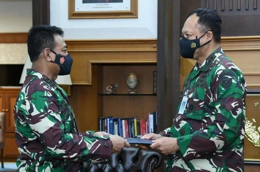 Danjen Akademi TNI dan Kasau