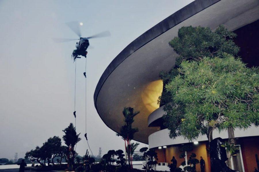 Koopssus TNI di Gedung DPR RI