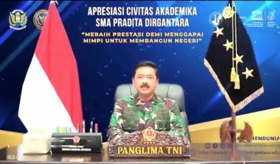 Panglima TNI Hadi Tjahjanto