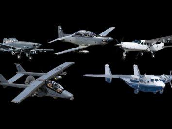 USSOCOM 5 Armed ISR aircraft choice