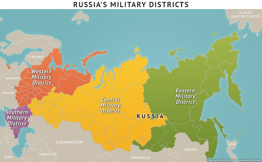 russias military districts