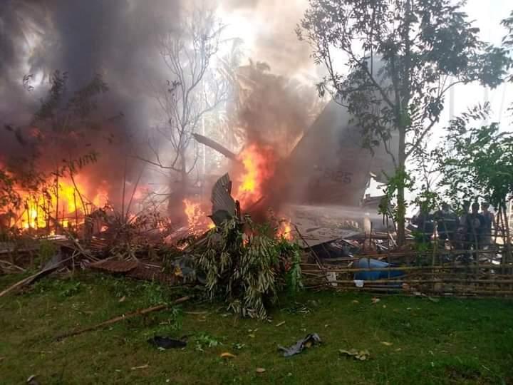 C-130H AU Filipina jatuh