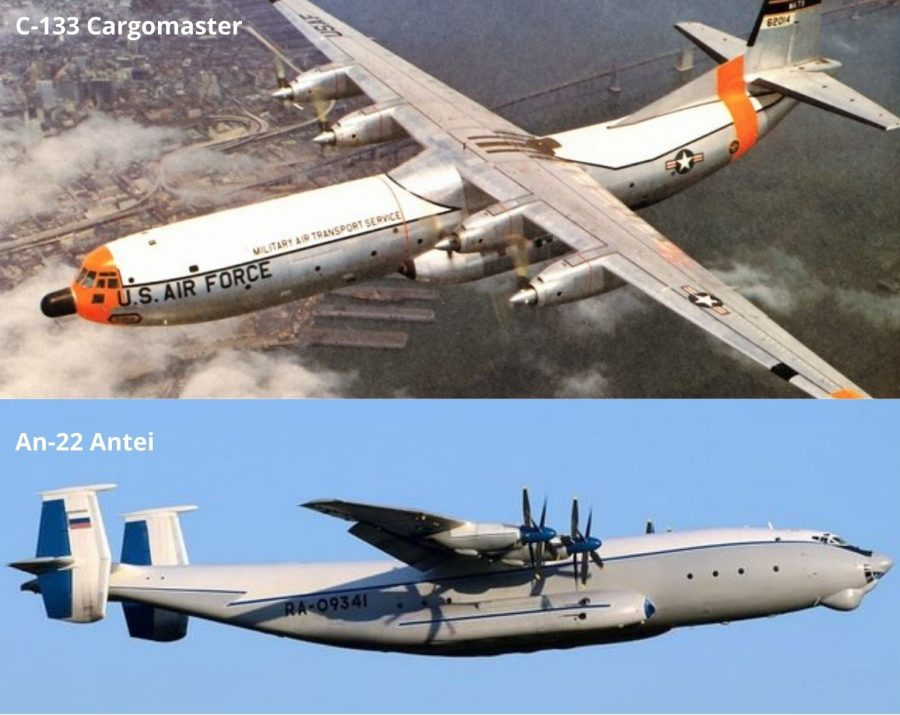 C-133 Cargomaster vs An-22 Antei_Airspace Review
