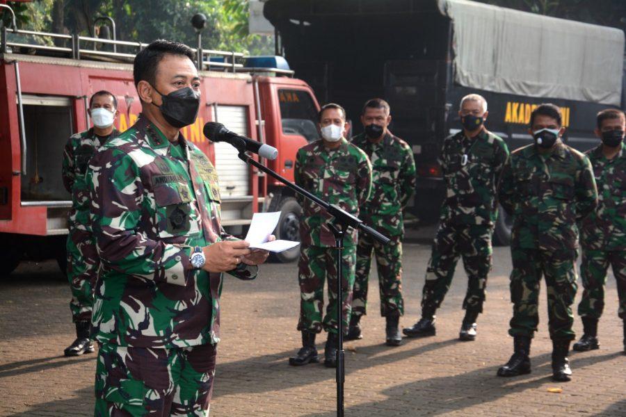 Danjen Akademi TNI Marsdya TNI Andyawan Martono Putra