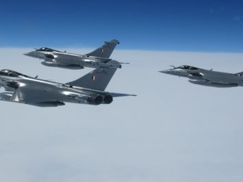 Indian Air Force Rafales