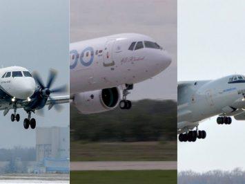 Pesawat angkut sipil-militer MAKS-2021_airspace review