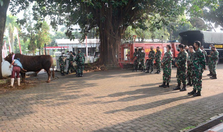 Qurban di Mako Akademi TNI